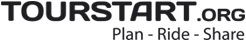 Tourstart plan ride share logo