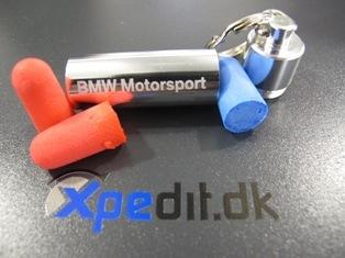 Motorcykel høreværn til beskyttelse af hørelsen fra BMW Motorsport
