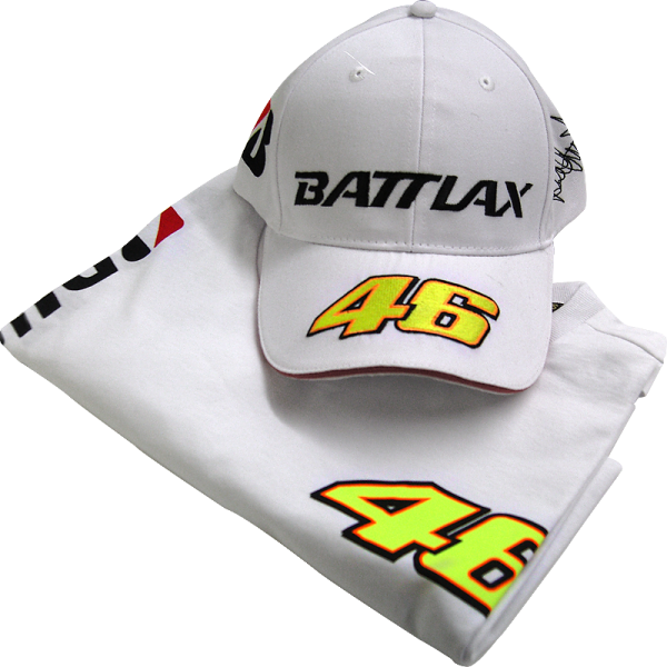 "Bridgestone ""The Doctor"" - Valentino Rossi hat og t-shirt"