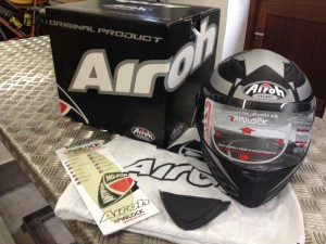 Airoh Motorcycle Helmet - in the box