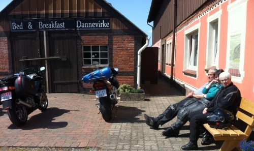 Bed & Breakfast Dannevirke with motorcyclists