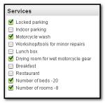 Bikerbed - services