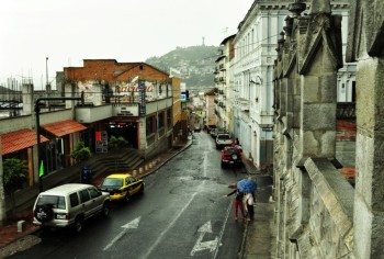 Crazy streets of Quito