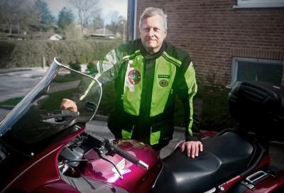 Henrik Jeanty Jensen, President of Nordsjællands Motorcykel Klub