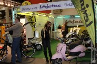 Elelctric motorcycles on Hamburger Motorrad Tage