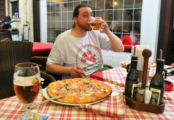 motorcyclist-pizza-and-a-cold-beer
