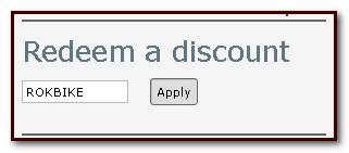 Rokbikr discount