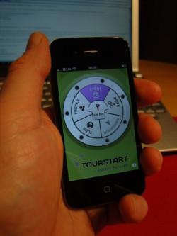 Tourstart iPhone app