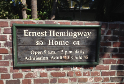 Ernest Hemingways home
