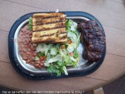 Cowboy food - Typical american steak and beans