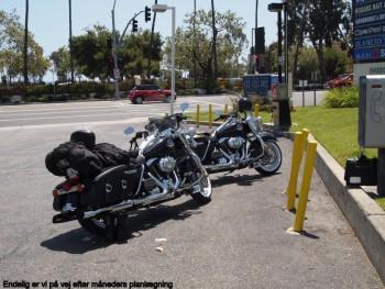 Harley Davidson Road King motorcykler