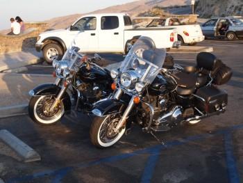 Harley Davidson Road King på USA MC tur