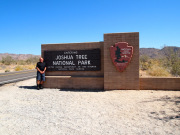 Joshua Tree National Park entrance