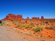 Monument Valley scenic rock formation