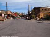 Oatman old goldmine village