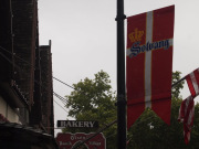 Solvang in USA and Danish flag