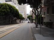Steep street in Los Angeles