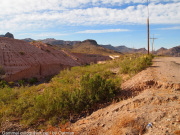 The road to Oatman an old gold rush city