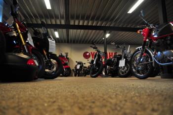 Professional motorcycle storage