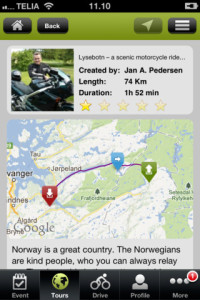 Motorcycle-tour-on-iphone