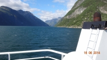Fjord heading west.