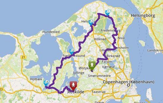 Tour 175_Veksø - Esrum Kloster - Munken - Ro image