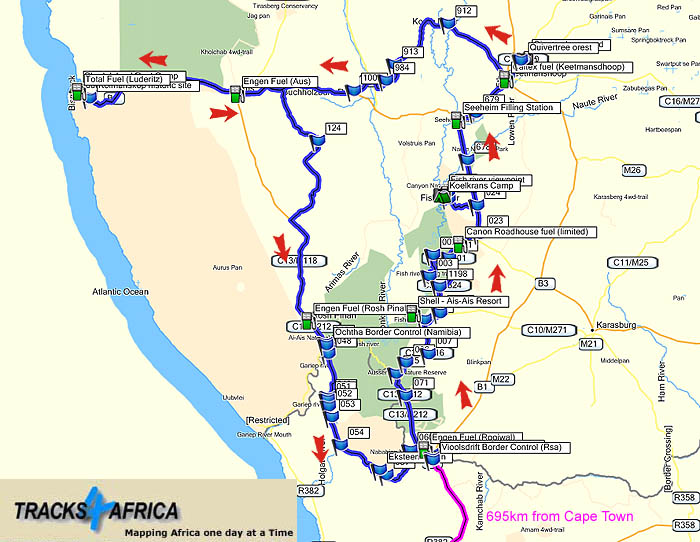 Tour Southern Namibian Adventure image