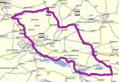Tour Silkeborg og omegn 85 Km image