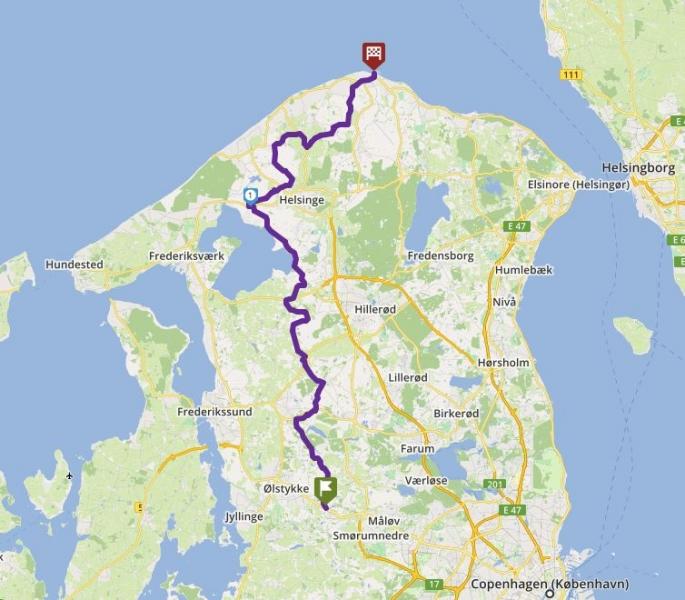 Tour 67_Veksø - GILLELEJE - 2 image