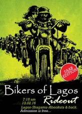 Bikers Of Lagos Rideout: SAAB Edition.