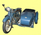 Ace Motorcycle with Sidecar