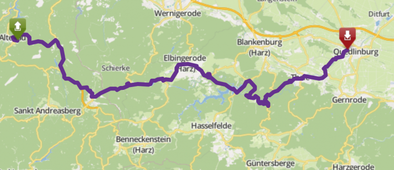 Tour Altanau-Quedlinburg image