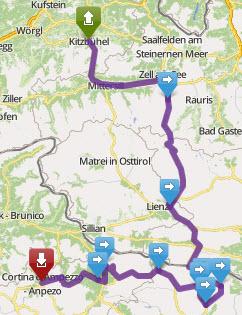Tour Day 2 Kitzbühel - Cortina 25 07 14 image