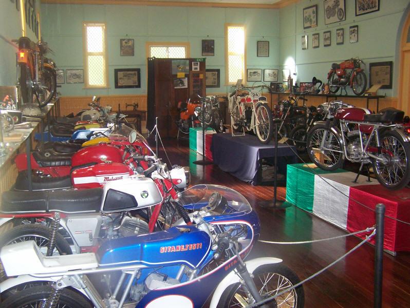 Tour Peterborough motorcycle & antique museum image