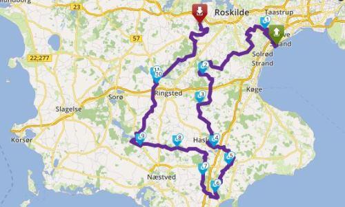 Tour 172_Godser på Sjælland image