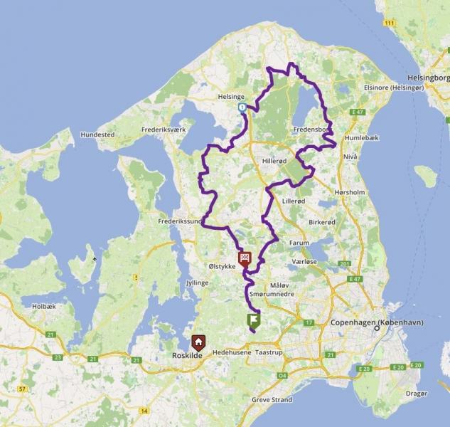 Tour 145_Sengeløse - PIBEMØLLE - VEKSØ image