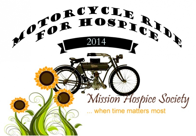 Tour MOTORCYCLE RIDE FOR MISSION HOSPICE SOCIETY 2014 image