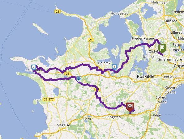Tour 259_Veksø - Kalundborg Havn - Pandekage Huset image