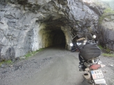 The narrow tunnel