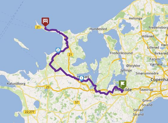 Tour 11_Ro - Odden Lystbåde havn image