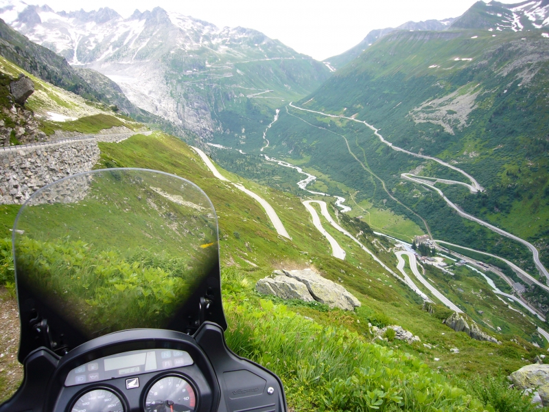 Tour Glion to Grimsel and Furka Pass image