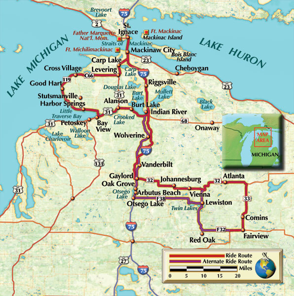 Michigan Bike Tours