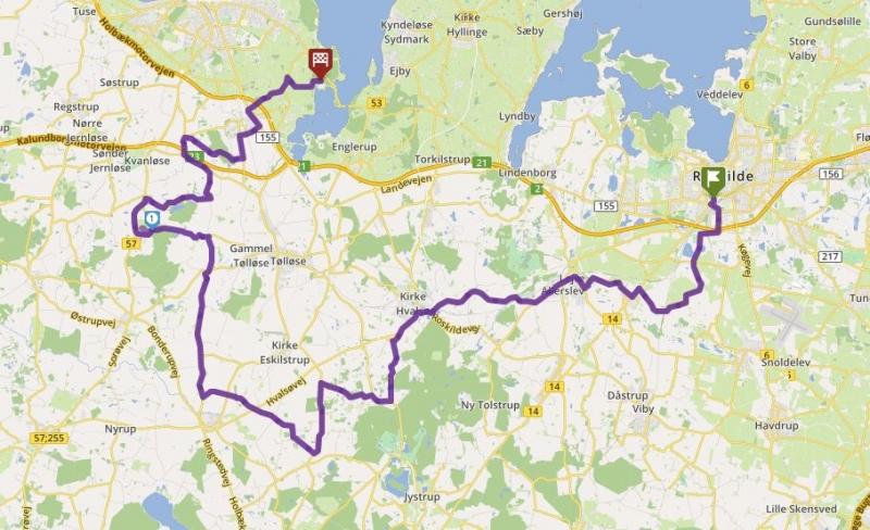 Tour 65_Ro - Brorfelde - Munkholm image