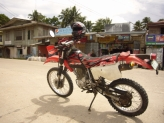 The rented Hoda XR200