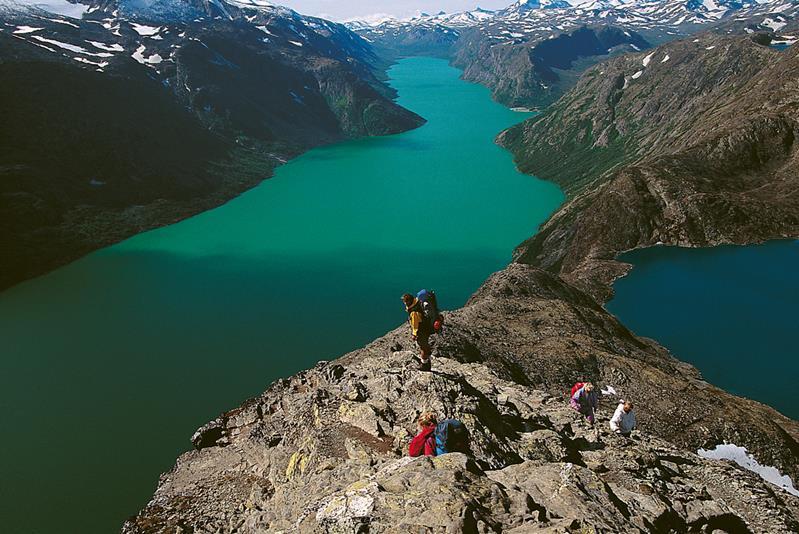 Garmin Map Update >> Motorcykel tur natur Tur til Besseggen i Norge