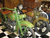 1925 and 1930 Harley Davidsons