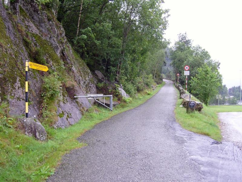 Tour Tronåsen - old postal road image