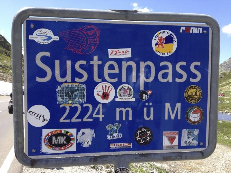 Tour Wassen-Susten-Glaubenbüelenpass- Sursee-Horben image