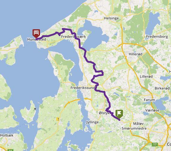 Tour 9_VEKSØ - HUNDESTED image