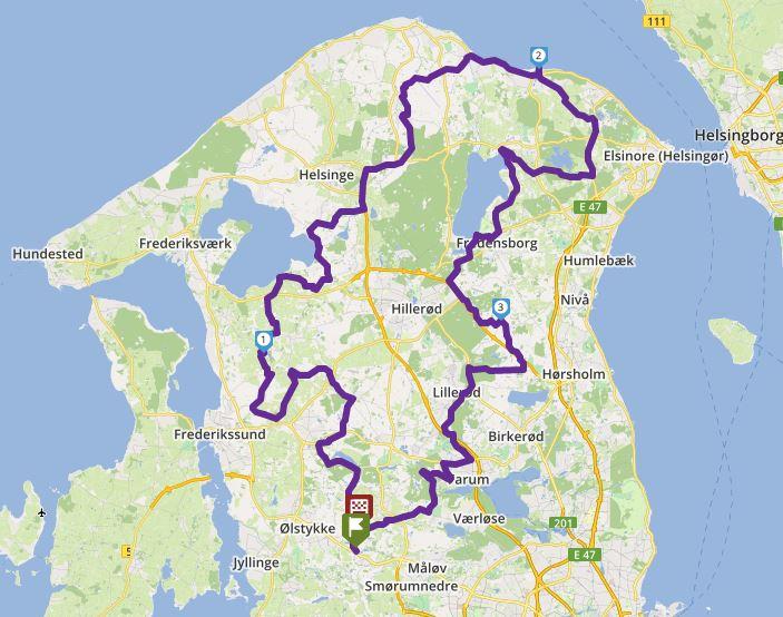Tour 202_NORDSJÆLLAND RUNDT image